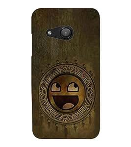 EPICCASE wooden smiley Mobile Back Case Cover For Microsoft Lumia 550 (Designer Case)