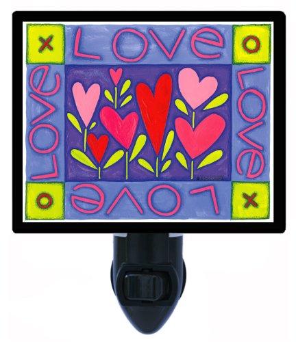 Valentines Day Night Light - Love Xo