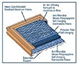 12x24x1 Electrostatic AC Furnace Air Filter Gold 82% Arrestance. Lifetime Warranty. Never Buy a New Filter