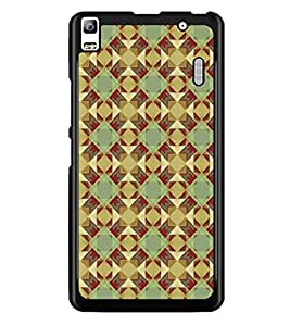 PrintDhaba Pattern D-5221 Back Case Cover for LENOVO A7000 (Multi-Coloured)