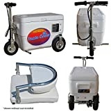 Cruzin Cooler Scooter 1000w WHITE 48v Electric, with Seat Back Rest