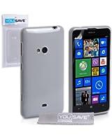 Yousave Accessories Custodia in Silicon Gel per Nokia Lumia 625, Trasparente