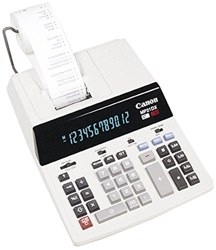 Canon Office Products MP21DX Business Calculator (Color: White, Tamaño: 9 x 12 1/4)