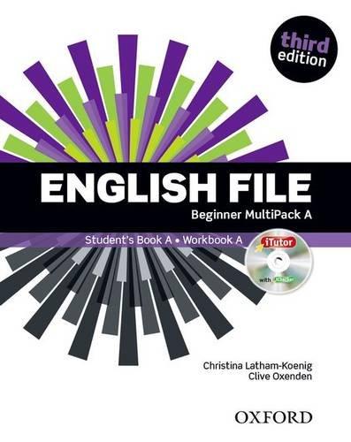 English File Beg Sb/Wb Multipack A 3Ed (English File Third Edition)