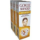 Gokul Sandal Face Cream 25g (pack of 3)