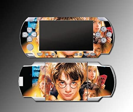Harry Potter Hermione Philosopher's Stone Hogwarts Game Vinyl Decal Skin Protector Cover 2 for Sony PSP 1000 Playstation Portable
