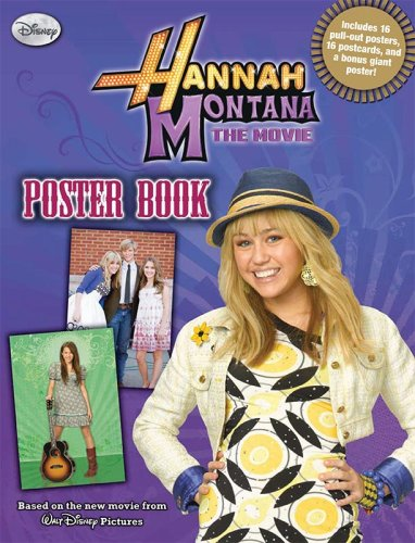Hannah Montana: The Movie (Poster Book)