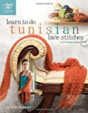 Learn to Do Tunisian Lace Stitches (Book & DVD) (Annies Attic: Crochet #879552)
