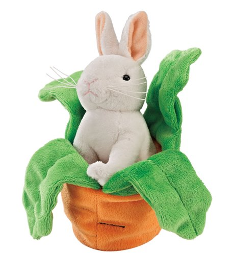 Sweet Stuffed Carrot with Bunny Plush