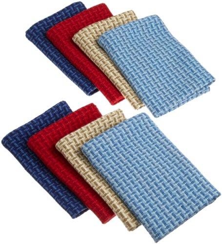 DII Nautical Shades Heavyweight Dish Cloth, Set