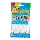 Toy - HAMA 207-01 - Perlen wei�, 1000 St�ck