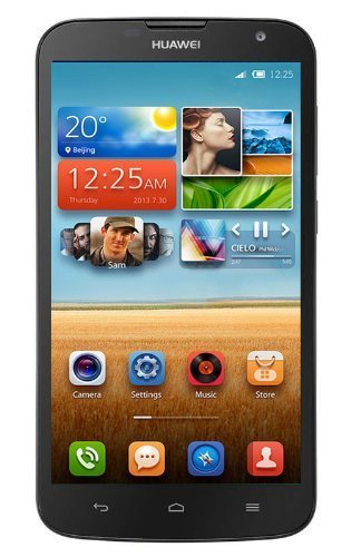 "Huawei Ascend G730 (Black) 5.5"" GSM 3G (Factory Unlocked) Quad Core Android Phone"