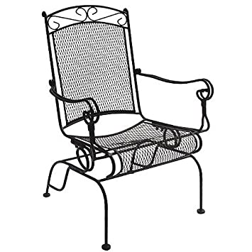 Excellent Wrought Iron Rocker Gamerscity Chair Design For Home Gamerscityorg