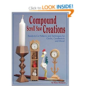 128 Compound Scroll Saw Patterns