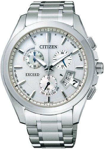 [シチズン]CITIZEN 腕時計 EXCEED エクシード ワールドタイム ジェットセッター Eco-Drive エコ・ドライブ 電波時計 ダイレクトフライト EBS74-5101 メンズ