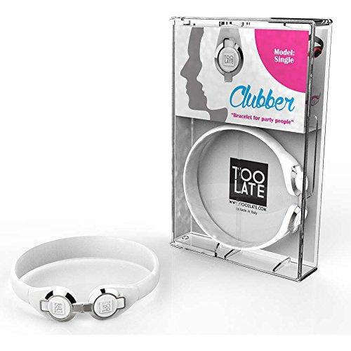 bracciale unisex gioielli Too late Clubber trendy cod. 8052745222423