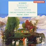 Schmidt: Symphony No. 3 / Hindemith Concerto for Orchestra