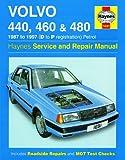 Volvo 440 460 Repair Manual Haynes Manual Service Manual Workshop Manual 1987-1997
