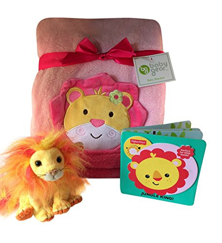 Jungle King Baby Girl Gift Set