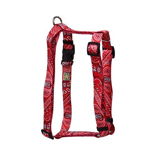 Yellow Dog Design Roman Harness, Small/Medium, Bandana Red (Yellow Dog Design Harness Medium compare prices)