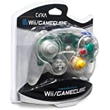 CirKa Wired Controller for GameCube/ Wii (Clear)