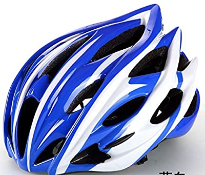Hawkfish015 235g Ultra Light Weight Mens/Ladies Adult Bike BICYCLE Helmet -EPS Safety Helmet- Available in 5 Colours-56-63CM by Generic002