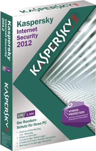 Kaspersky Internet Security 2012 (gratis Upgrade auf Version 2013 inklusive)