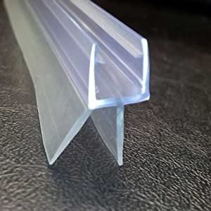 Shower Screen Seal (Glass Thickness 4-6mm | Gap to Seal 14mm)