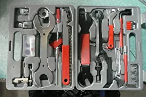 FANTASYCART Brand New! Home Mechanic Bicycle Tool Kit 44 Pcs!