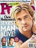 img - for * SEXIEST MAN ALIVE! ISSUE * Chris Hemsworth * Chris Pratt * Idris Elba * Diem Brown * December 1, 2014 People Magazine Special Double Issue book / textbook / text book