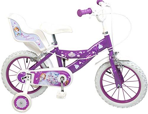 Bicicletta per bambini Sofia la prima bicicletta, 14pollici, 16pollici Disney bambina, 12, pneumatico