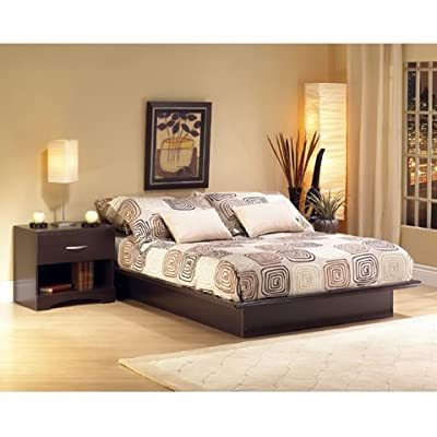 New Manhattan Chocolate Platform Bed