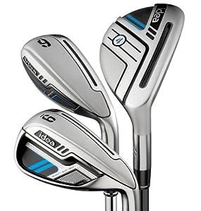 Adams New Idea Hybrid Irons Set (3H-5H, 6-PW) by Adams Golf