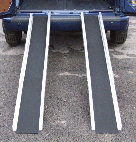 Aidapt 7 Feet Long Mobility Telescopic Channel Ramp