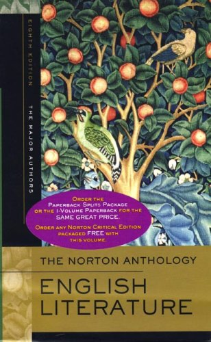 The Norton Anthology of English Literature, Volume A and B: The...