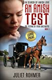 img - for An Amish Test (Large Print): The Testing of Ryan and Mattie (In Search of Amish Love) (Volume 3) book / textbook / text book