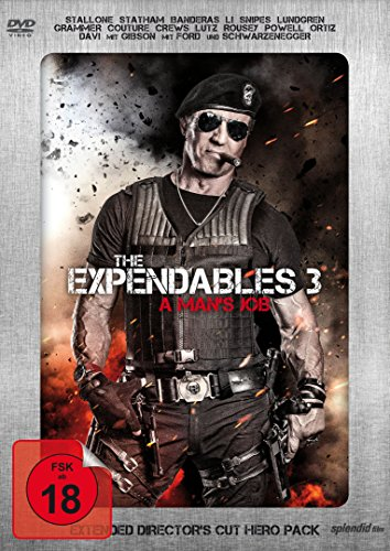 The Expendables 3 - A Man's Job (Extended Director's Cut, Limited Hero Pack)