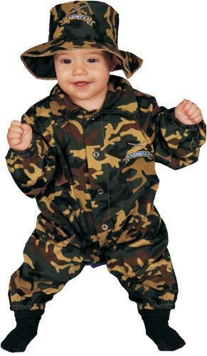Dress Up America Baby Military Officer, Camouflage, 0-9 Months - 1