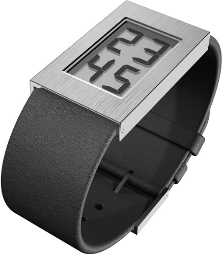 Rosendahl Ladies Digital Watch I 43270 with Polished Stainless Steel Case and Leather Strap