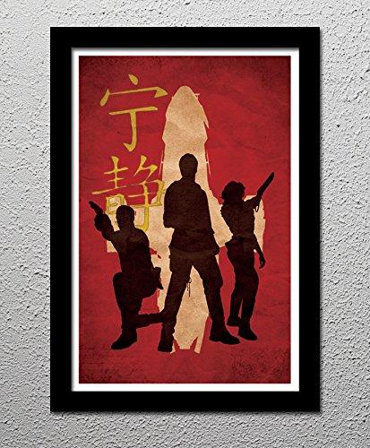 firefly-serenity-captain-malcolm-reynolds-crew-original-minimalist-art-poster-print
