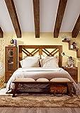 Kopfteil für Betten : Kollektion STAR Doble Cruz 100x140x3