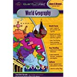 Quantum Pad Learning System: World Geography Interactive Book and Cartridge ~ LeapPad