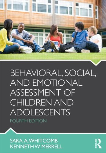 Behavioral, Social, and Emotional Assessment of Children and Adolescents PDF