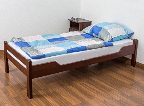 Fabulous Buy Cheap Single bed Easy Sleep K n solid beech wood dark brown