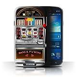 STUFF4 Phone Case Cover for Samsung Galaxy Grandi9082 Machine Design Slot Machine Collection