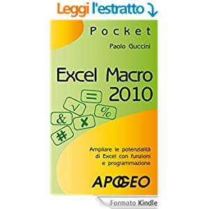 Excel macro 2010 (Pocket)