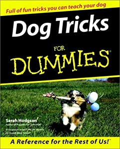 Dog Tricks For Dummies For Dummies Computertech by For Dummies