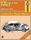 Image of VW Type 3 1500 & 1600  '63'73 (Haynes Manuals)