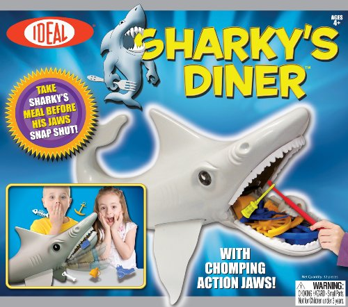 POOF-Slinky 36300 Ideal Sharky's Diner Game