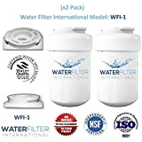 GE MWF SmartWater Compatible Water Filter Cartridge - Refrigerator (2 Pack)